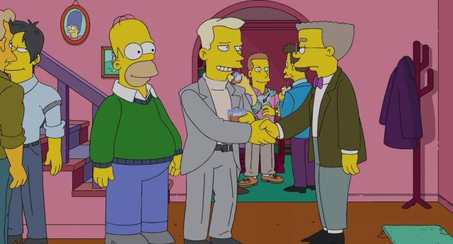 Simpson, prima clip dall'episodio che vede Waylon Smithers fare coming out