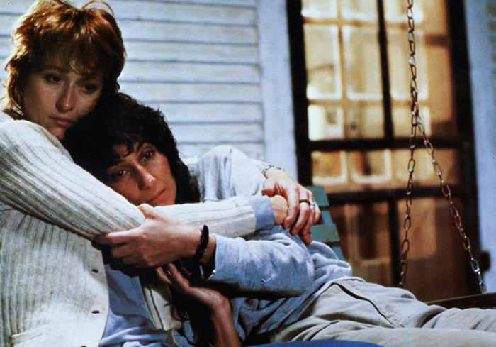 SILKWOOD [US 1983] MERYL STREEP AND CHER  AN ABC MOTION PICTURES PRODUCTION     Date: 1983