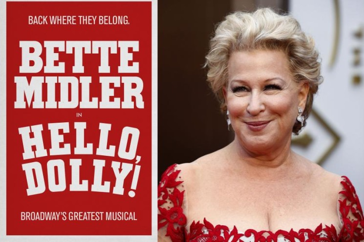 Bette Midler nella storia di Broadway con Hello Dolly – vendite da record