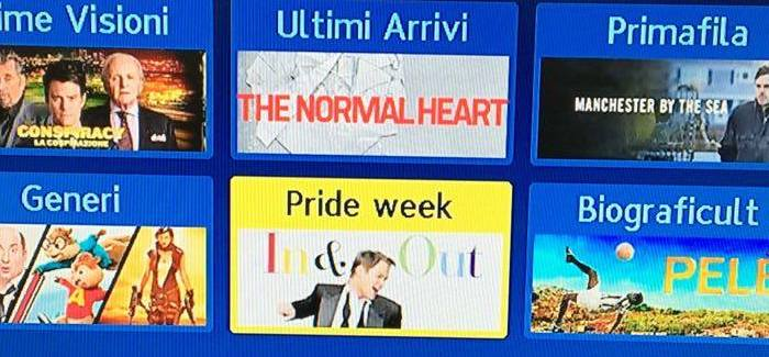Sky on Demand lancia PRIDE WEEK, canale ad hoc per i film LGBT