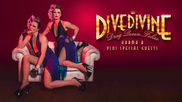 DIVEDIVINE FOLIES, i Karma B al Salone Margherita con un varietà interpretato e diretto da Drag Queen